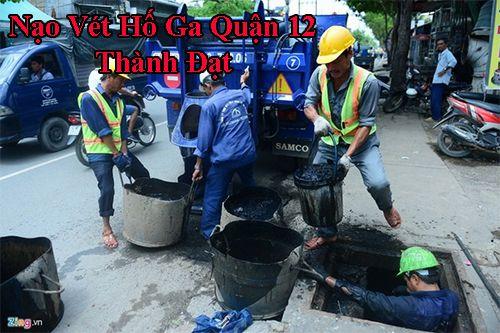 Nạo vét hố ga quận 12 Thành Đạt xử lý thế quy trình thế nào ?