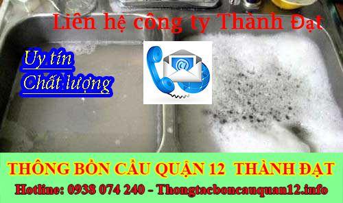 Bồn rửa chén bát trào ngược cần gọi cho ai đến xử lý ?