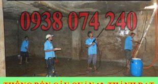 Bảng giá vệ sinh bể nước ngầm Quận 12 giá rẻ 0938074240