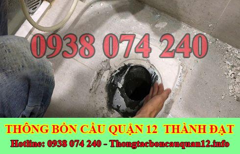 Dịch vụ xử lý mùi hôi nhà vệ sinh Quận 12 giá rẻ 0938074240