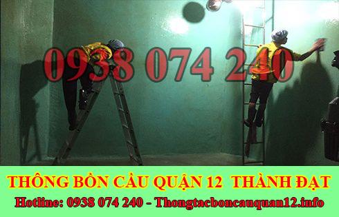 Bảng giá vệ sinh bể chứa nước ngầm Quận 12 giá rẻ 0938074240
